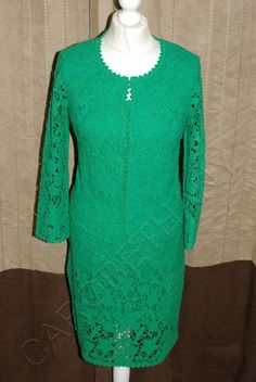 Have you seen the stunning Phase Eight Guipu... on our website right now! http://www.carobethany.co.uk/products/phase-eight-8-guipure-lace-dress-and-jacket-in-green-wedding-size-14?utm_campaign=social_autopilot&utm_source=pin&utm_medium=pin