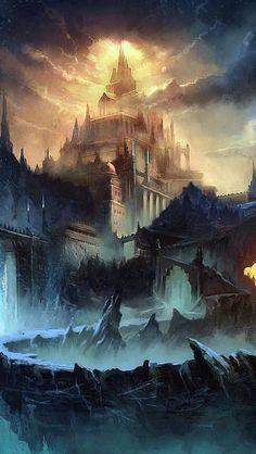 Gothic Mystical Fantasy Fantasy Castle