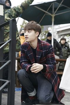 D.O - 150409 'EXO Next Door' promotional image Credit: Naver.