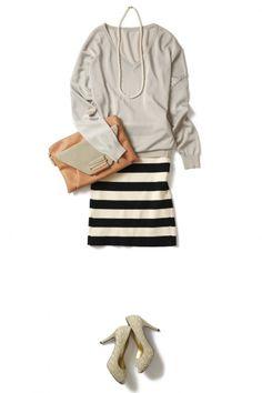 春はグレーで優しく、柔らかく、女性らしく ― A - ファッションコーディネート通販|ビストロ フラワーズ トウキョウ