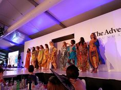 Kaftan fashion show Clipsal 500 Ladies Lunch for Sunday Mail Charity Foundation Feb 26 2 2015