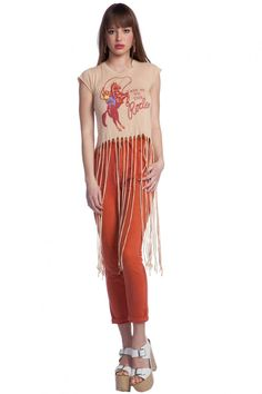 WILDFOX - TAKE ME TO THE RODEO - FRINGE T