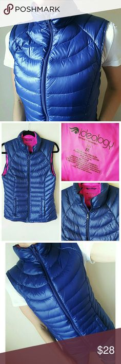 💙Down Vest💙 Down puffy vest! Like 🆕 So warm! Could easily fit a small or medium! Ideology Jackets & Coats Vests