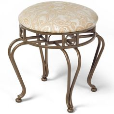 Inspiration Web Design Add a touch of elegance to your bathroom with this Victorian Vanity Stool