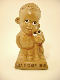 RARE Vintage 1970 Wallace Russ Berrie & Co. Black by EclecticGals, $65.00