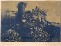 Ferdinand Engelmüller - Hrad Pernštejn Castle Pernštejn