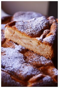 Renette Apple Cake - uses apples macerated with Marsala