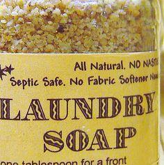 Vitage Laundry Detergent   Laundry Soap- 64 loads HE -Vintage Jar- All Natural NO detergents ...