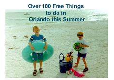 Free things to do in #Orlando Vacation