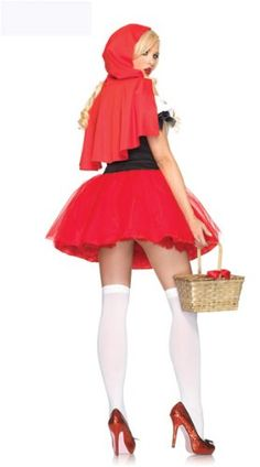 Fever FairyTale Miss Little Red Riding Hood Hoodwinked Tween Fancy Dress Stretch Costume Roll Play Dressup Adult - http://www.cheaptohome.co.uk/fever-fairytale-miss-little-red-riding-hood-hoodwinked-tween-fancy-dress-stretch-costume-roll-play-dressup-adult/