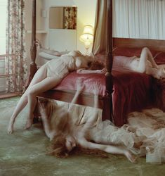 'Dreaming of Another World' Guinevere van Seenus by Tim Walker for Vogue Italia March 2011