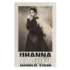 Rihanna Anti World Tour Lenticular Poster