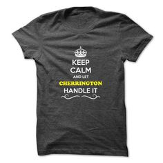 awesome CHERRINGTON Tshirt, Its a CHERRINGTON thing you wouldnt understand