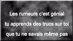 Rumeurs ...