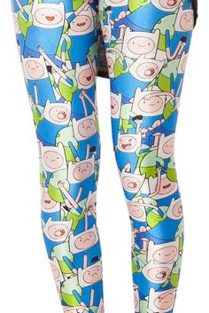 Awesome Adventure Time leggings