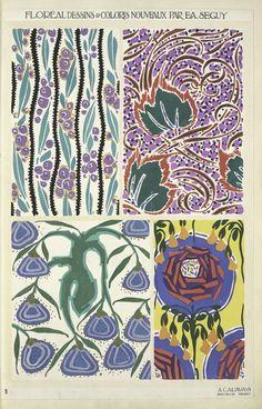 Eugène-Alain Séguy, Floréal Dessins & Coloris Nouveaux, page 9