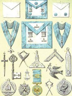 Freemasonry:  English #Masonic Symbols.