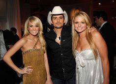 Carrie Underwood, Brad Paisley and Miranda Lambert