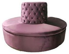 Round Lobby Sofa Banquette Seating Lounge Furniture Entrance Hall