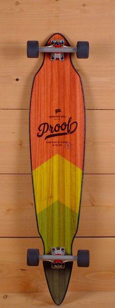 "Moonshine 45"" Proof Pintail Longboard"
