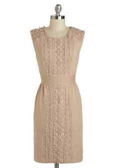 Waiting for this to go on sale! Wonderful! Beading the Way Dress, #ModCloth