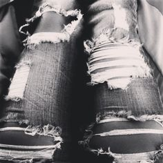 Bare foot blue jean night <3
