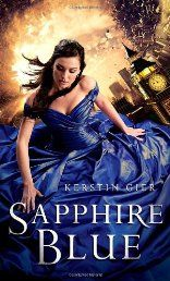 Sapphire Blue (Ruby Red) by Kerstin Gier. Gwen's life has been a rollercoaster since she discovered she was the Ruby, the final member of the secret time-traveling Circle of Twelve. In between searching through history for the other time-travelers and asking for a bit of their blood (gross!), she's been trying to figure out what all the mysteries and prophecies surrounding the Circle really mean. Click The Pic!