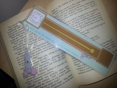 Children's Bookmark Hickory Dickory dock by SmartMouseDesign, £1.75