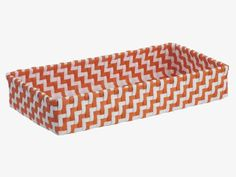 Habitat UK; 8GBP The brightly coloured Logan bread basket has an eye-catching pattern, made from durable, hand-woven plastic.