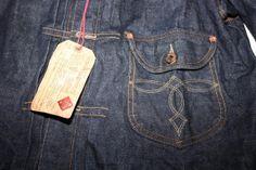 RRL Denim Cowboy Buckle Back Jacket Limited Edition   VINTAGE AMERICANA TOGGERY