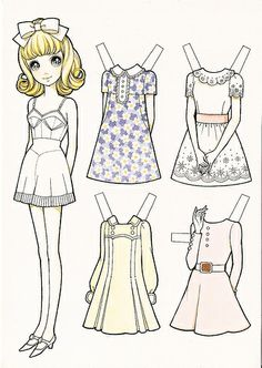 Macoto Takahashi Paper Doll by Alpenfieber ♥, via Flickr