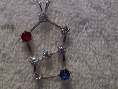 Orion The Hunter Sterling Silver and Cubic Zirconia by Astronut2b, $59.95