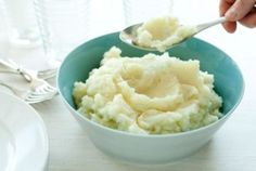 Mashed cauliflower tastes similar to mashed potatoes but with fewer carbs. Top with chopped herbs and grated cheese if you like. Watch our how-to video.