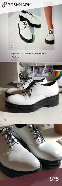 Urban Outfitters Platforms These bad boys were a woppin $175!! They've been worn max 5 times and show minimal signs of wear (pictured above). They're super stylish but I can only bring but so many shoes to college 😩😩😩  These are a size 7 and the fit is spot on in my opinion Urban Outfitters Shoes Platforms