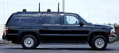 Electronics countermeasure vehicle with its unique profile