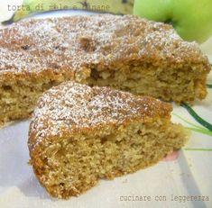 Avete voglia di un dolce che vi sazi senza appesantirvi? Ecco questa è la torta che fa per voi ;) Perfetta per la colazione ma vi attirerà anche in qualsia