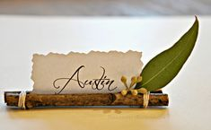 How To Make 5 Quick, Easy, And Elegant Thanksgiving Place Cards ...