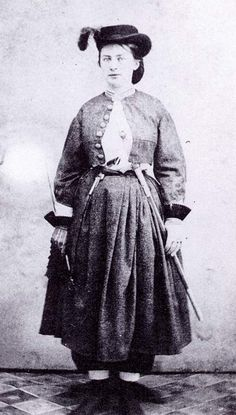 """Confederate spy Belle Boyd, described by one teenaged rival as """"the fastest girl in Virginia, or anywhere else for that matter."""""""