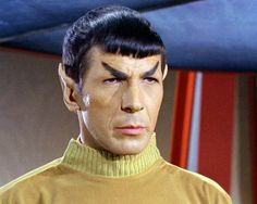 Leonard Nimoy as Spock in the 60's TV Series Star Trek