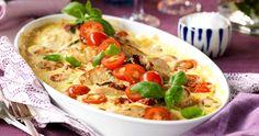 Krämig kycklinggratäng med rostad potatis | Året Runt