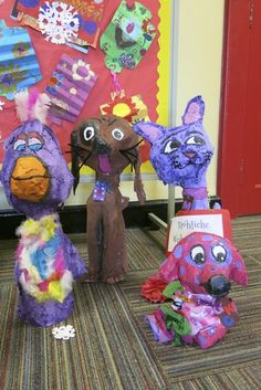 paper mache....whew!!!! — Mrs. Jones — Piedmont Community Charter School: A Challenge Foundation Academy