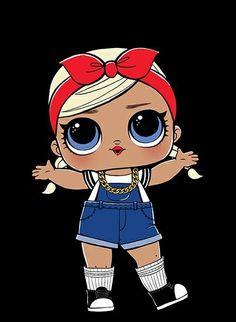 Лолы Kawaii Drawings, Cute Drawings, Little Doll, Little Girls, Chibi Kawaii, Doll Drawing, Doll Party, Lol Dolls, Art Plastique