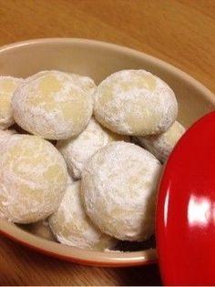 簡単♡ホワイトデー♡スノーボールクッキー