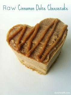 Like the latte only better  #Raw #Vegan Skinny Cinnamon Dolce Cheesecake plus 12 natural ingredient cheesecake recipes that rock http://www.damyhealth.com/2013/03/12-healthy-delicious-cheesecake-recipes/