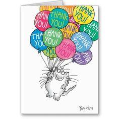 Thanks a bunch!  Thank you card. By Artist, Sandra Boynton.  $2.95