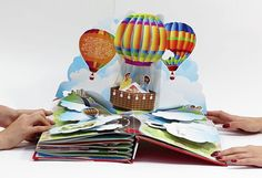 Bonduelle. Pop-up book by Anna Baggins, via Behance
