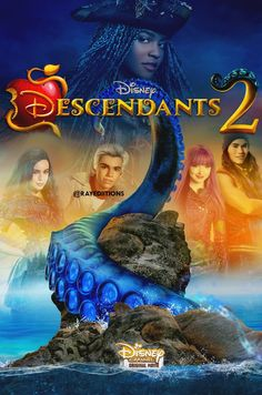 Descendants 2 Dove Cameron as Mal Sofia Carson as Evie Booboo Stewart as Jay Cameron Boyce as Carlos And China Anne MicClain as Uma #DisneyChannel