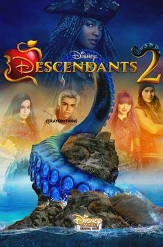Descendants 2 Dove Cameron as Mal Sofia Carson as Evie Booboo Stewart as Jay Cameron Boyce as Carlos And China Anne MicClain as Uma #DisneyChannel