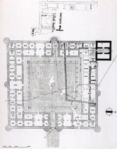 Qasr al-Hayr al-Garby (Oeste). -Siria. -Dinastía Omeya.