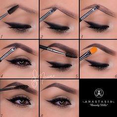 Brows correction #makeup #tutorial #evatornadoblog
